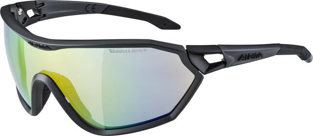 Alpina S Way L VLM+ Cykelbriller, coal matt black